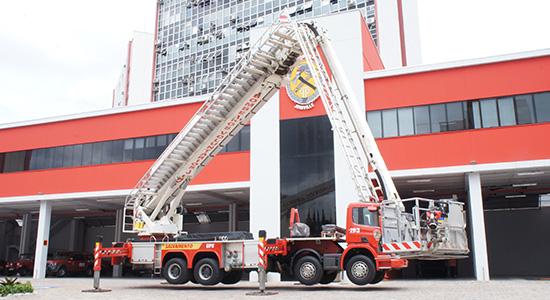 Plataforma Bombeiros Voluntários de Joinville
