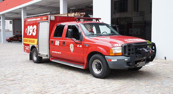 Resgate Veicular Bombeiros Voluntários de Joinville